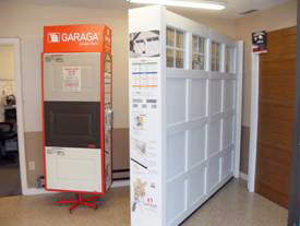 DSI North Door Systems Showroom Display