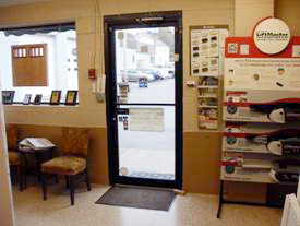 DSI North Door Systems Showroom Entry