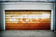 Situations that can cause rust on a garage door